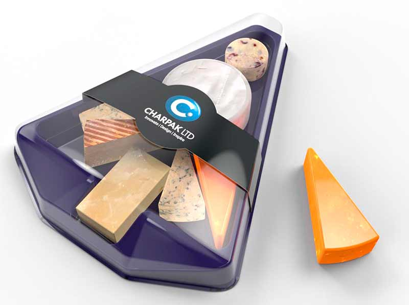 cheese selection packaging