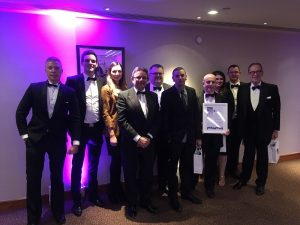 Charpak collect their Business Culture Award