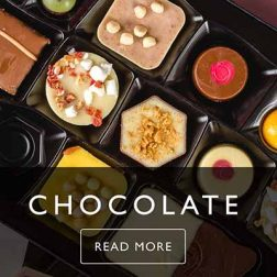 chocolate assortments and confectionery packaging