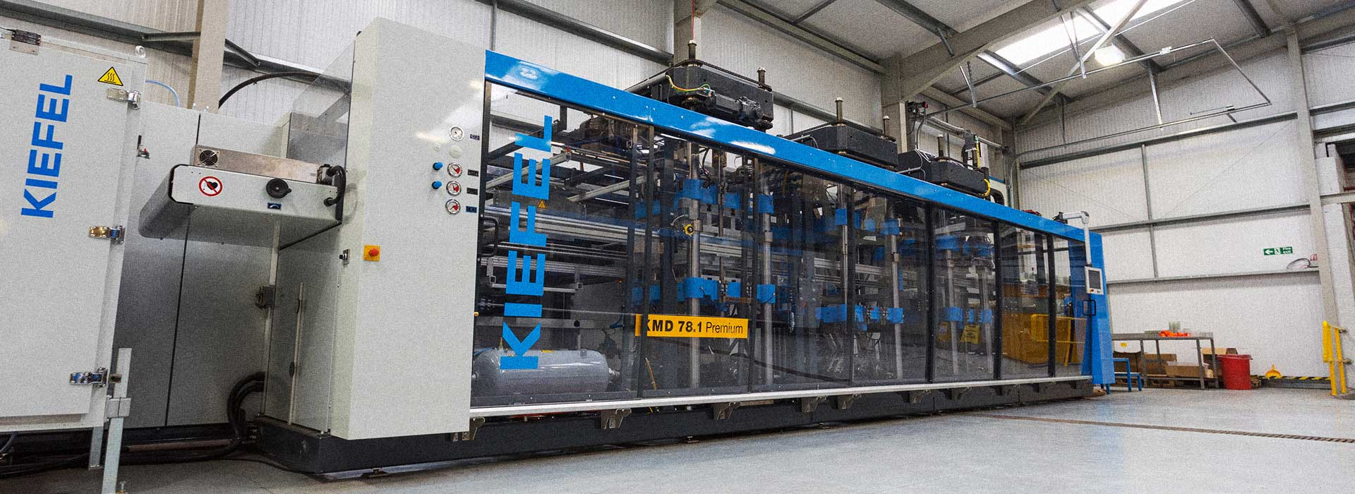 Kiefel thermoforming machines