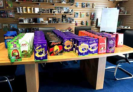 Easter Eggs for every member of the team