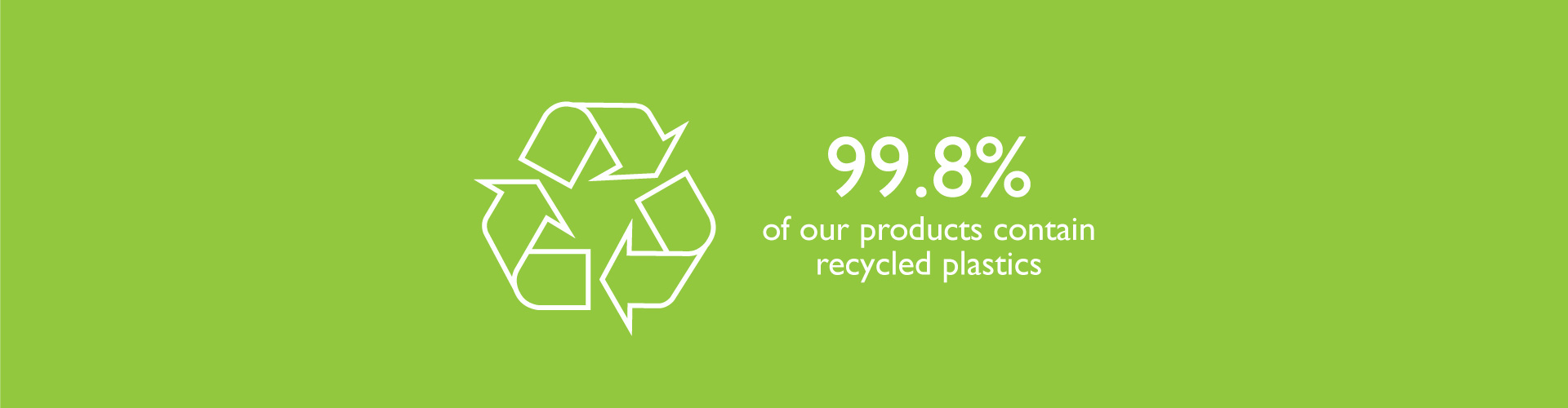 Sustainability-slider-99.8 recycled plastics