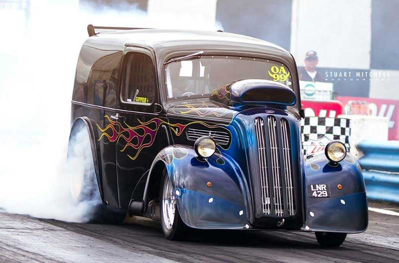 Hot Rod drag racing