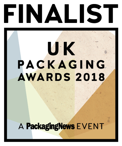 The UK Packaging Awards 2018 Finalist