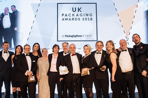 UK Packaging Award Winners SME of the Year 2018 Charpak Ltd