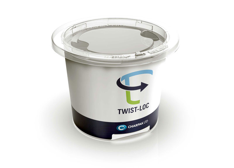 Twist-Loc widely recycled plastic packaging charpak ltd