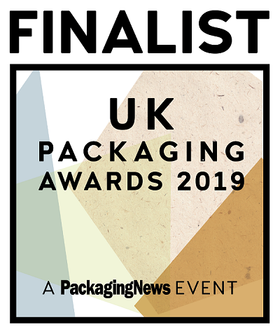 UK Packaging Awards 2019 Finalist Charpak Ltd