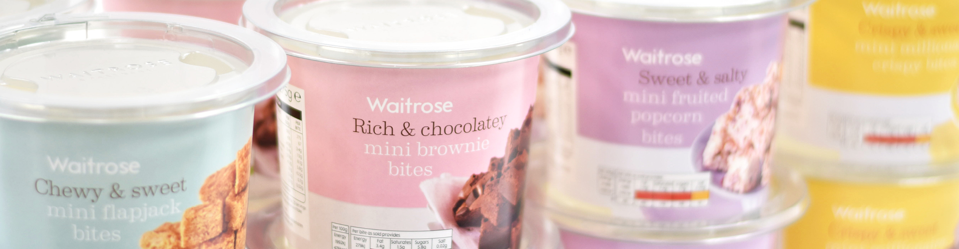 Waitrose & Partner Treat Tubs