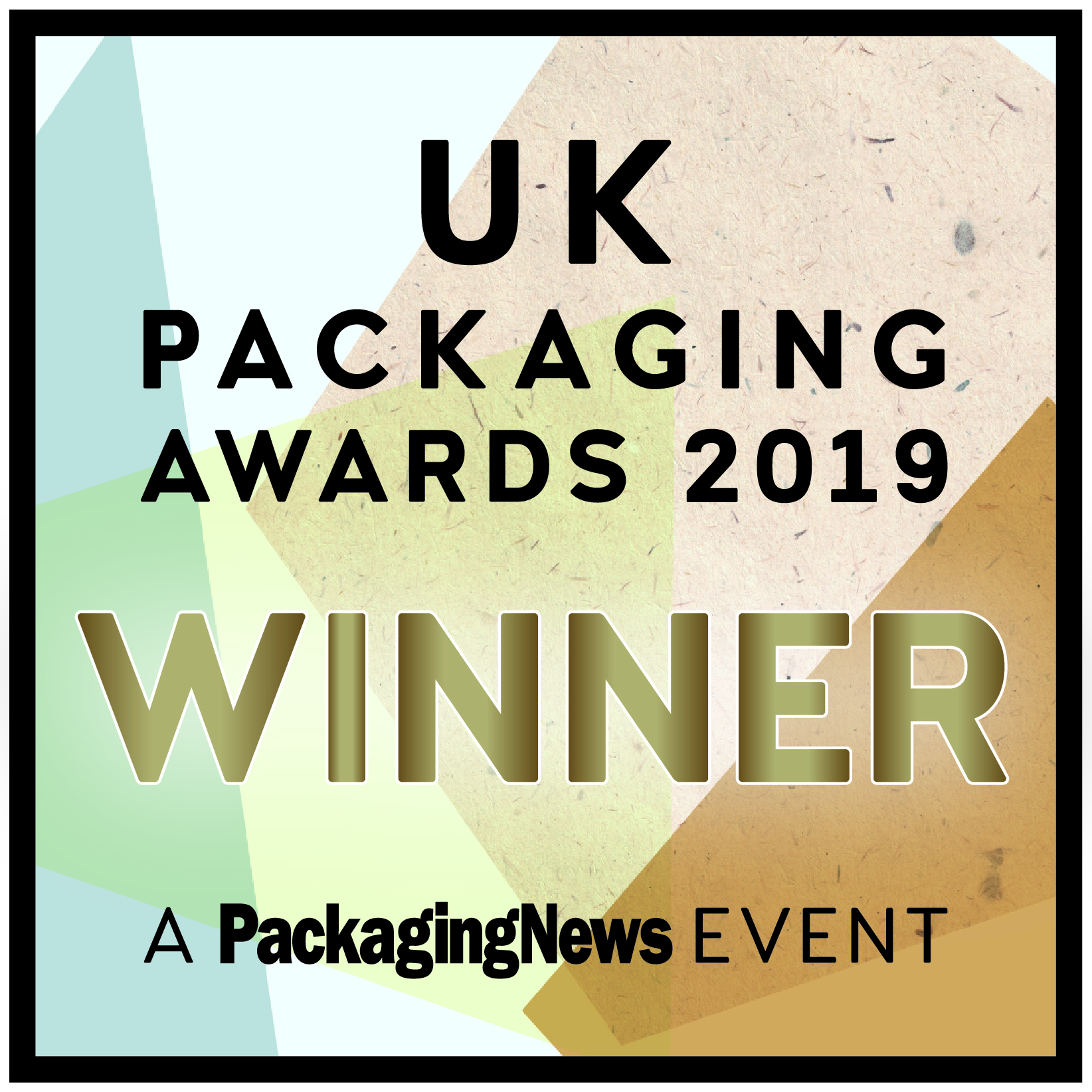 UK Packaging Awards Innovation of the Year 2019