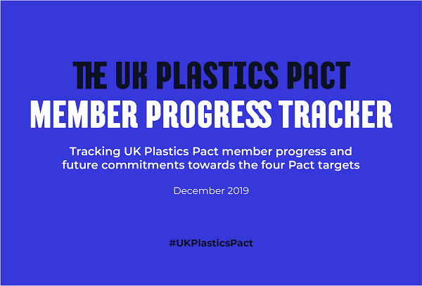 WRAP UK Plastics Pact Member Progress Dec 2019 Charpak Ltd